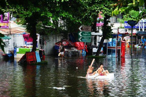 ทำไมกรุงเทพถึงน้ำท่วม